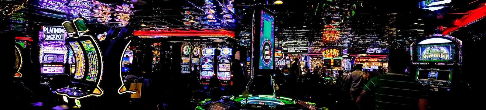 Picture of a casino floor in Las Vegas, NV